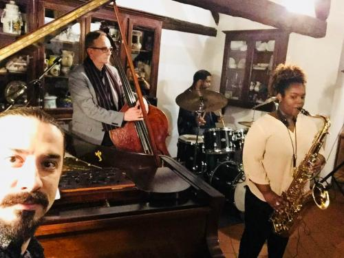 Camille Thurman & MMT @ Ancona Italy 18/March/2018Camiille/Jeff/Marco/Darrell