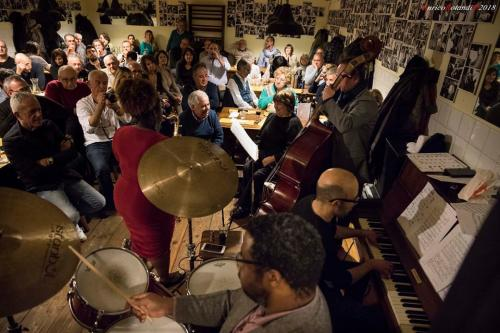 Camille Thurman & MMT @ Osteria Mattana Sestri Levante (GE) Italy 21st March 2018