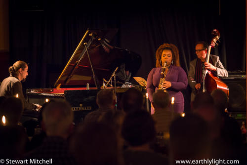 Camille Thurman & MMT @ Aberdeen Jazz Festival Scotland on 17/March/2018