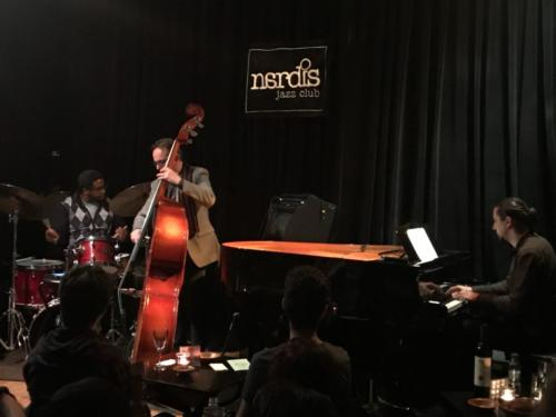 "Marco Marzola Trio ""CARISMA"" @ Nardis Jazz club Istanbul on March 12th 2018"