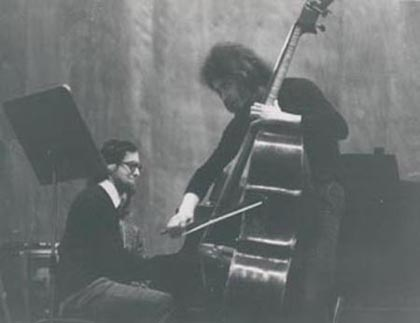 1973Duo Concert at Conservatory in Ferrara (Italy)